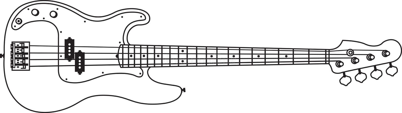 Base_music_sound_line_vector lizenzfreies stockbild