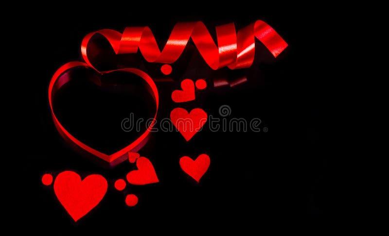 Base para el día del ` s de la tarjeta del día de San Valentín de la enhorabuena imagenes de archivo