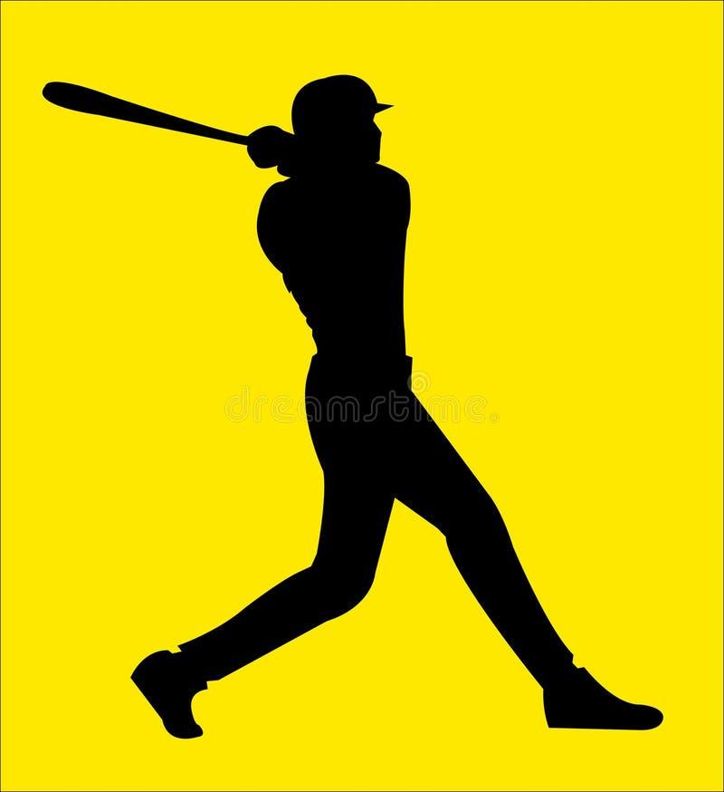 Baseball 12 royalty free illustration