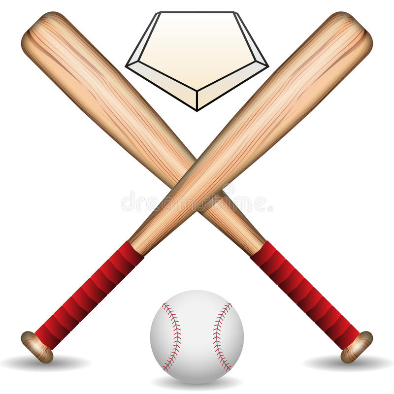 Baseball royalty free illustration