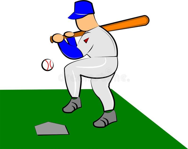Download Baseball stock vector. Image of baseball, blue, batter - 23577608