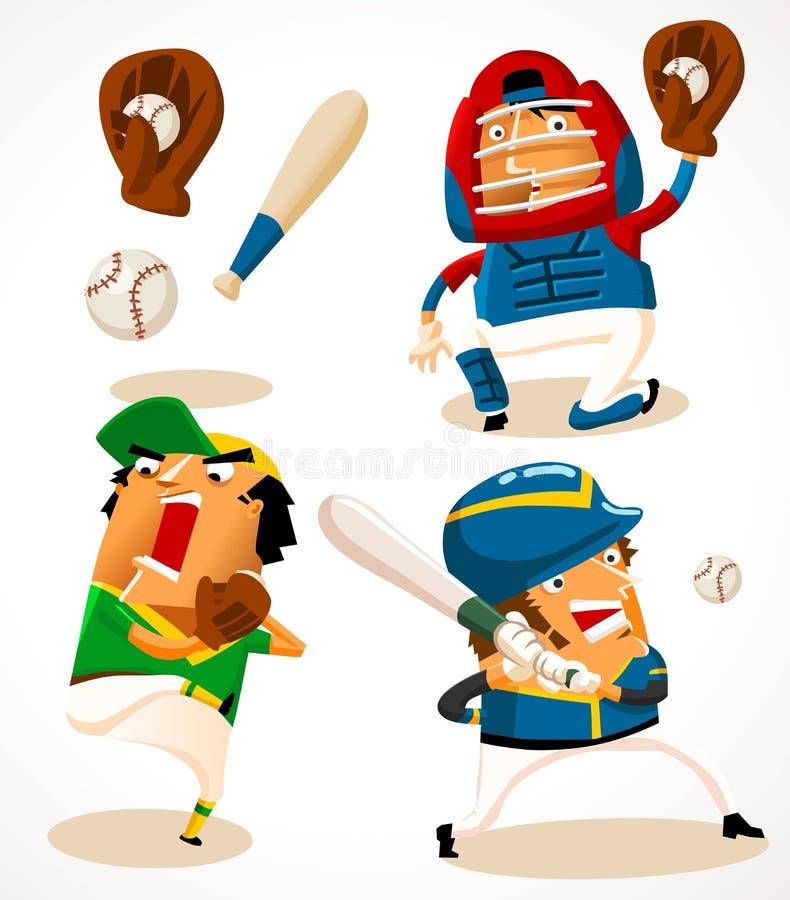 Download Baseball stock vector. Image of league, uniform, action - 24725343