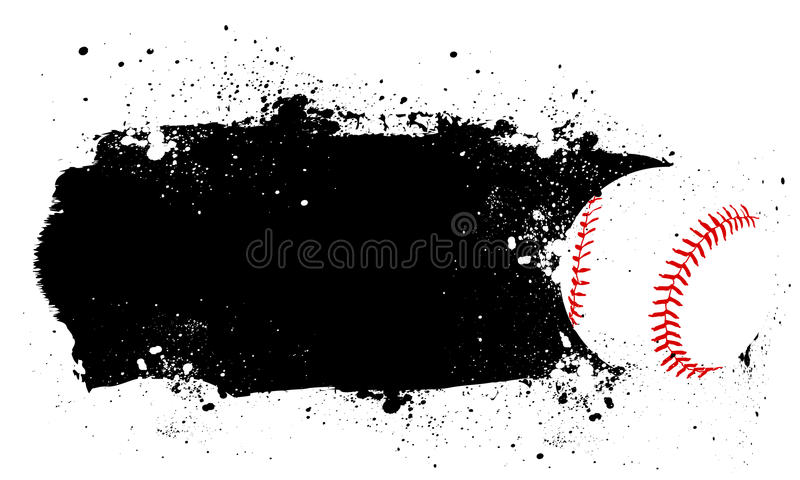 Baseball stock illustration