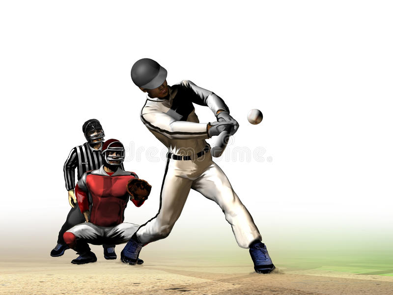 Baseball stock illustrationer