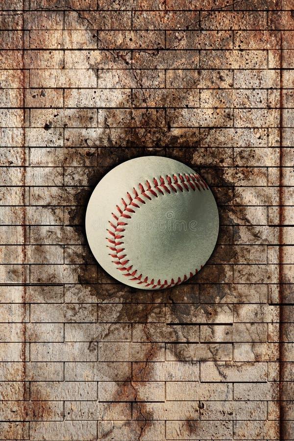 Download Baseball ilustracji. Ilustracja złożonej z przełam, tło - 53783657