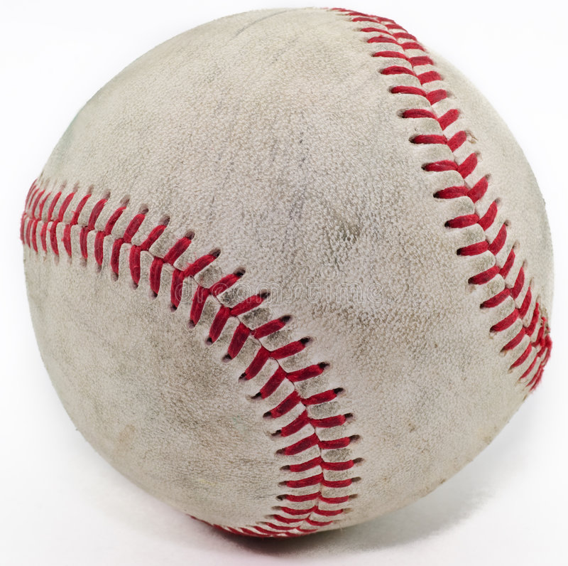 Download Baseball stock image. Image of stiching, isolated, object - 6404283