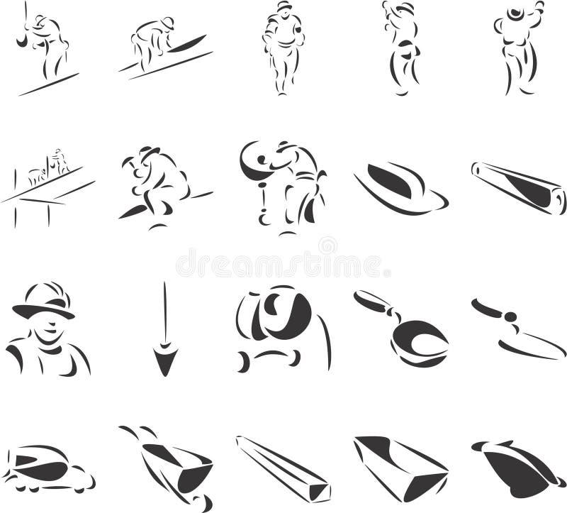 Baseball illustrazione di stock