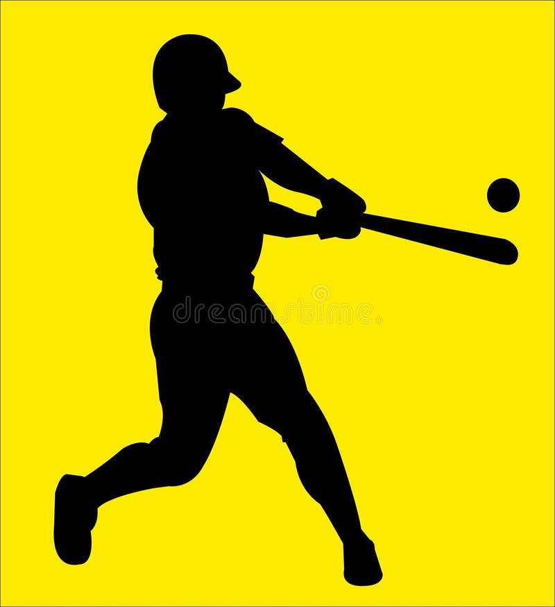 baseball 9 vektor illustrationer