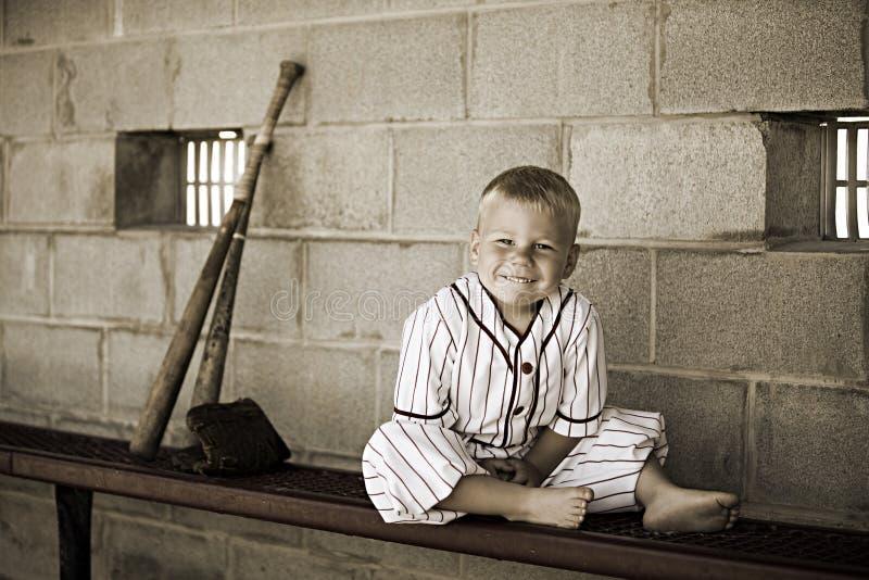 Baseball all'antica fotografie stock libere da diritti