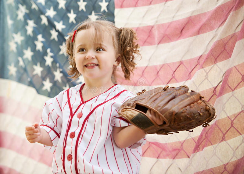 Baseball all'antica fotografia stock libera da diritti