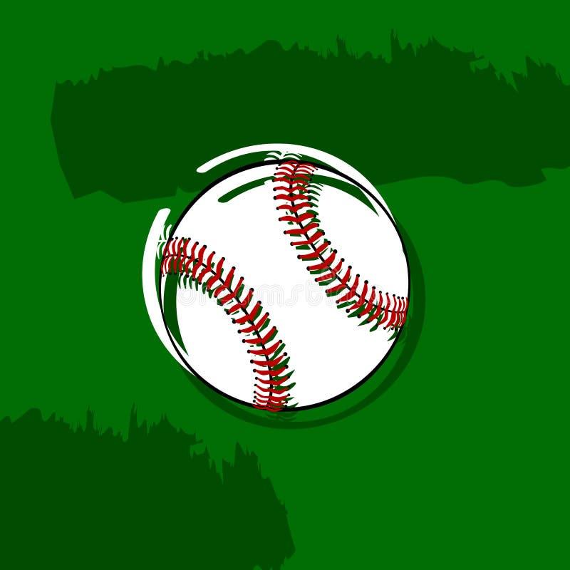 Baseball alla moda illustrazione di stock