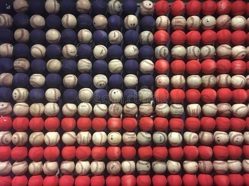 Baseball, American as Apple pie stock photo