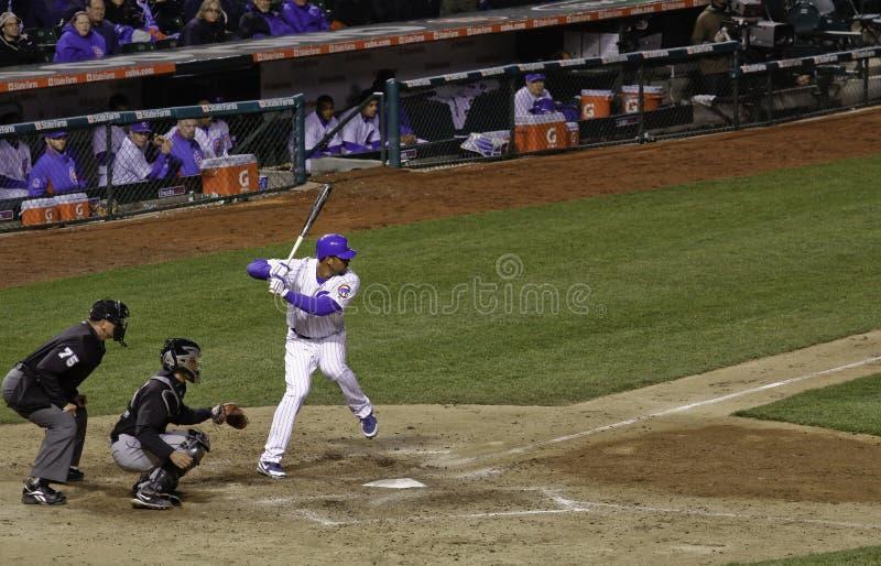 Baseball - anticipazione! fotografia stock libera da diritti