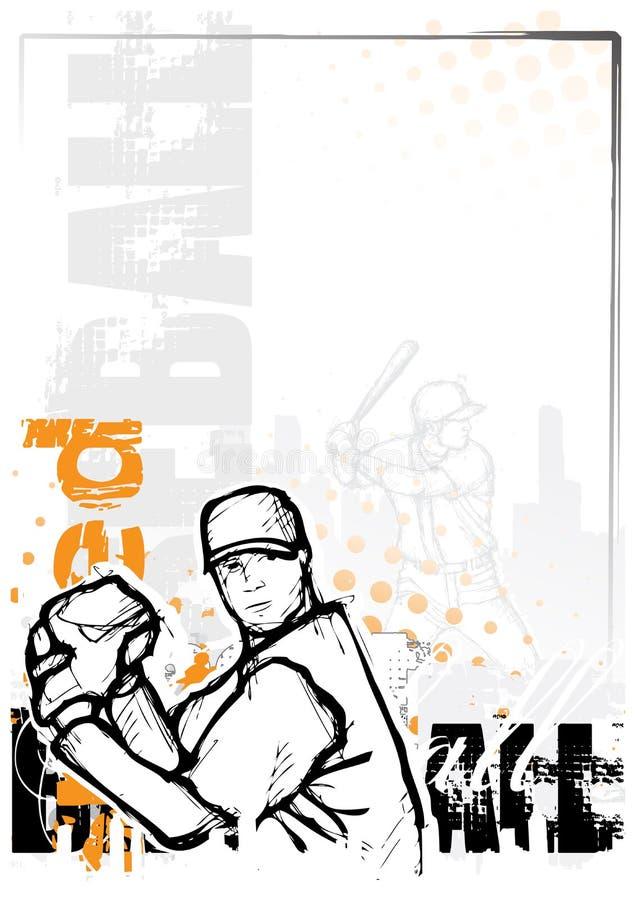 Baseball Background Royalty Free Stock Image