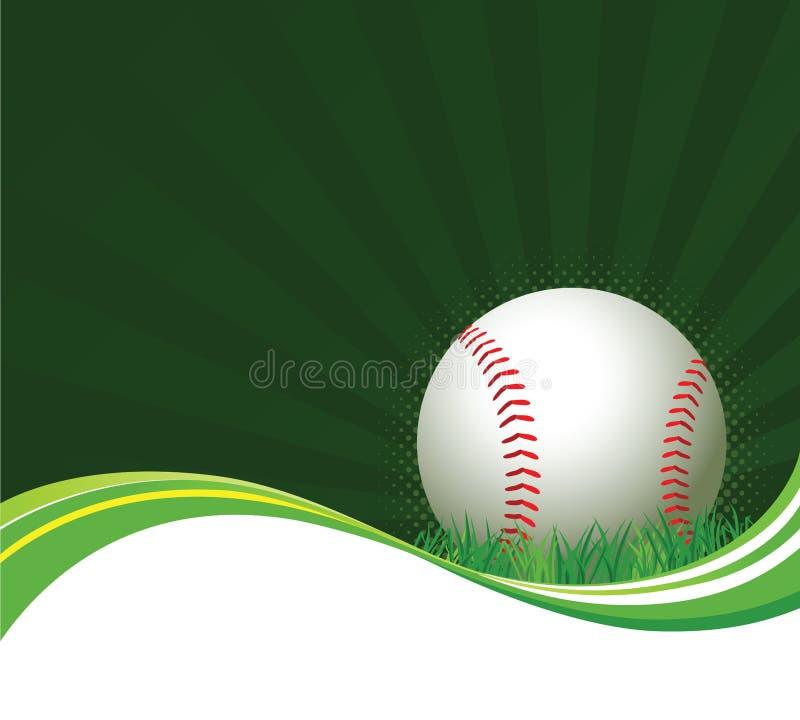 Baseball Background Royalty Free Stock Photography