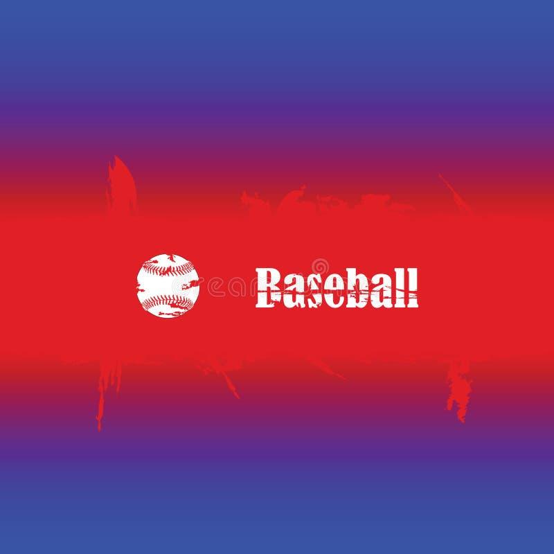Baseball background stock illustration
