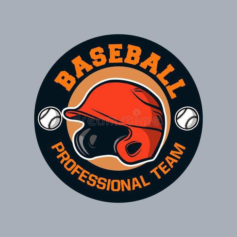Baseball badge logo emblem template baseball professional team royalty free stock photos