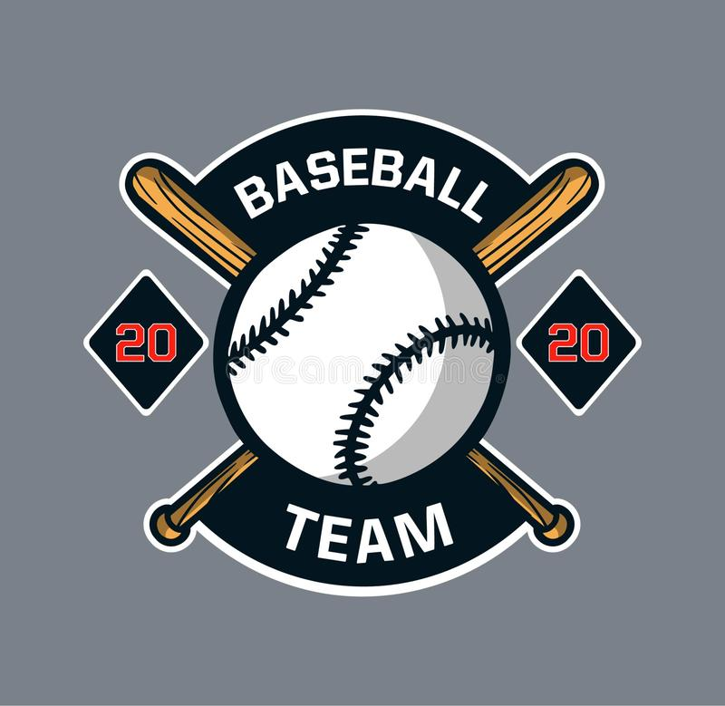 Baseball badge logo emblem template team club stock photos