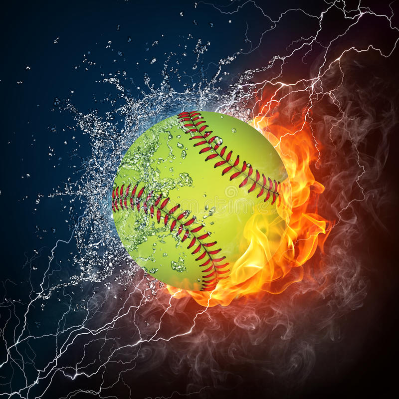 Baseball Ball royalty free illustration