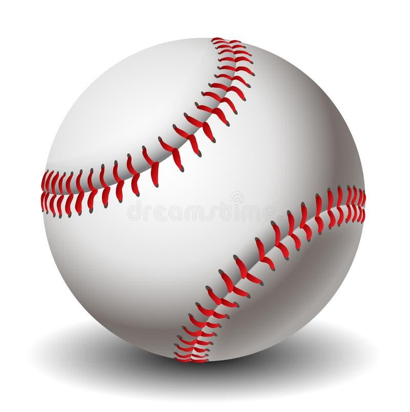 Baseball ball eps10 royalty free stock images