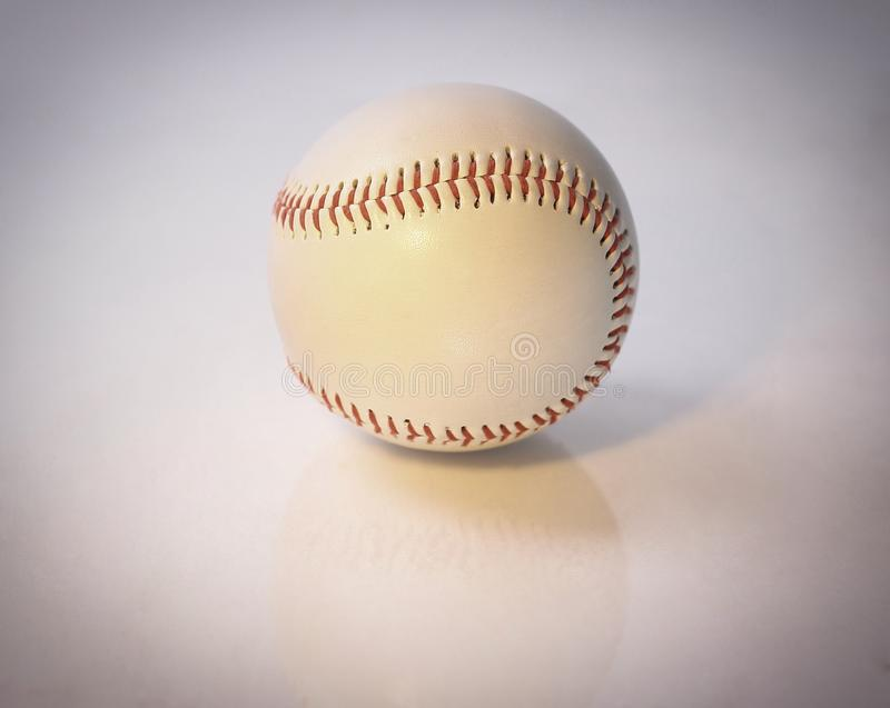 Baseball ball .isolated on a white background . royalty free stock photo