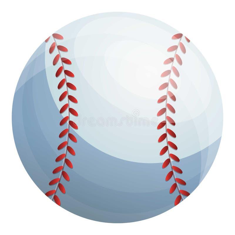 Baseball balowa ikona, kresk?wka styl ilustracja wektor