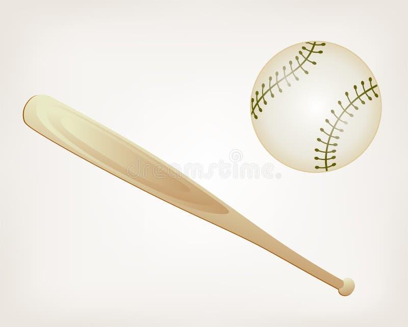 Download Baseball and Bat stock vector. Illustration of baseball - 29179151