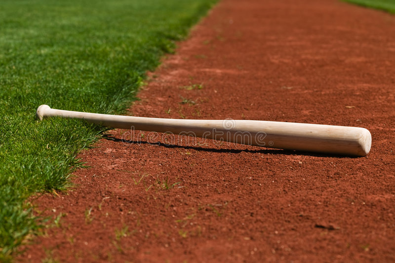 Baseball Bat stock image
