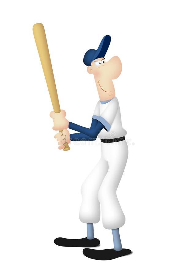 Baseball Batter Royalty Free Stock Photography