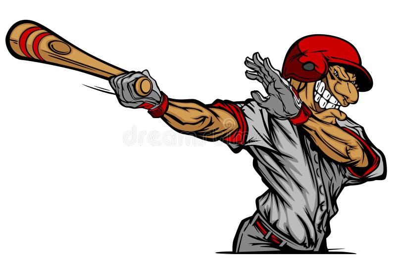 Download Baseball Batter Hitting Cartoon Vector Image Stock Vector - Image: 17995101