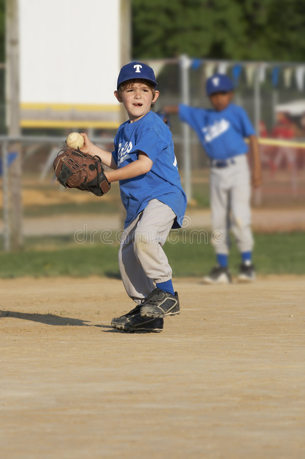 Baseball betriebsbereit lizenzfreie stockfotografie