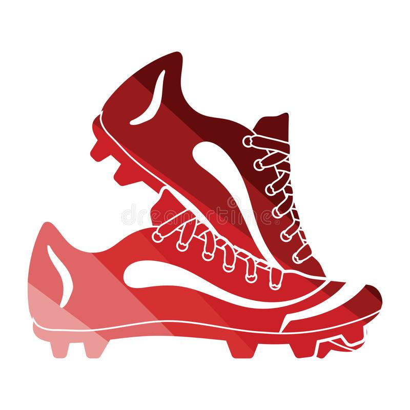 Baseball boot icon vector illustration