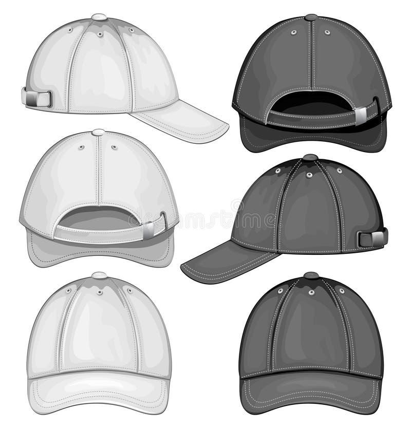 Download Baseball cap stock vector. Image of helmet, illustration - 21564112