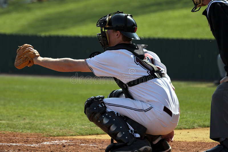 Download Baseball - catcher stock photo. Image of ball, game, field - 627976