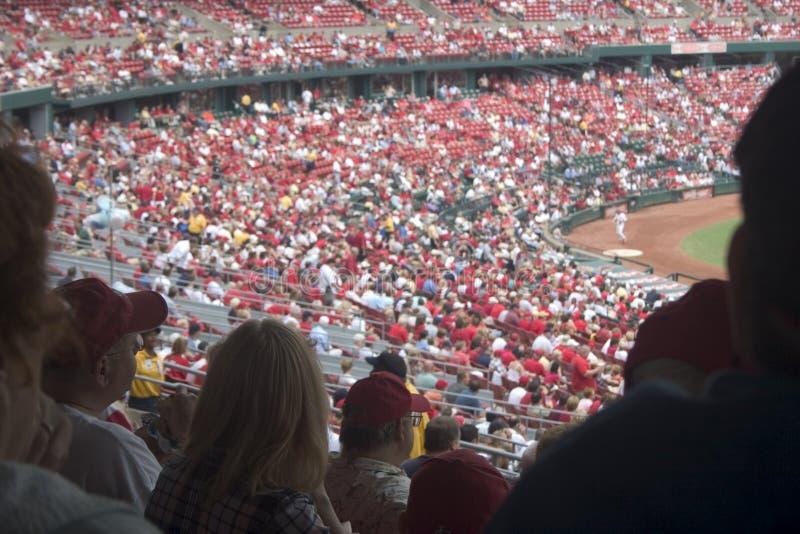 Baseball Crowd stock photos