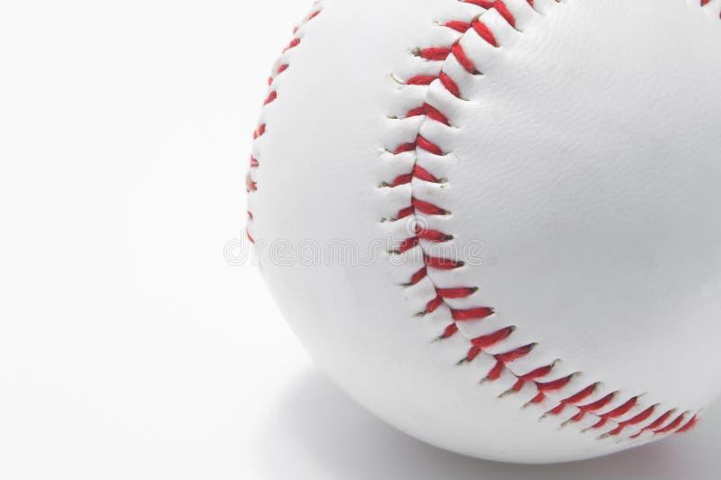 Baseball - cucitura rossa fotografia stock