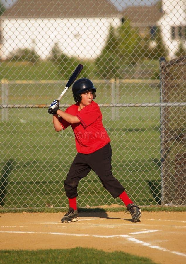 Baseball der kleinen Liga stockfotos