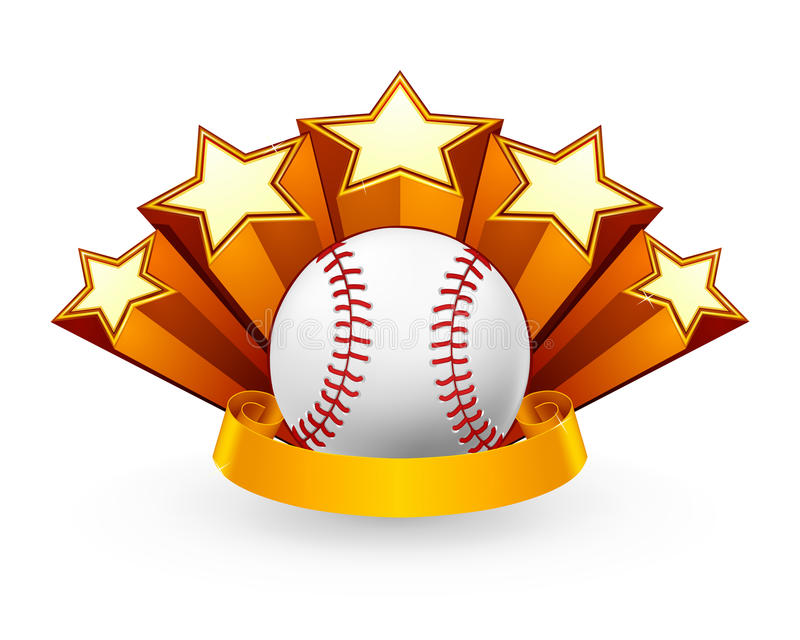Download Baseball Emblem stock vector. Illustration of emblem - 20220008