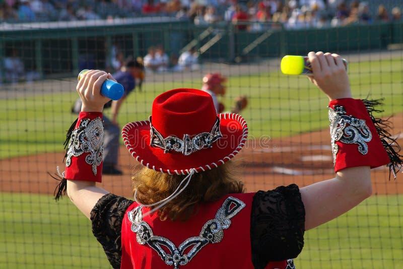 Baseball Entertainer royalty free stock photo