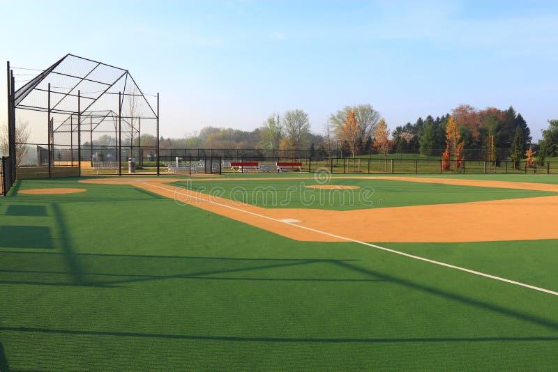 Baseball-Feld stockfotos