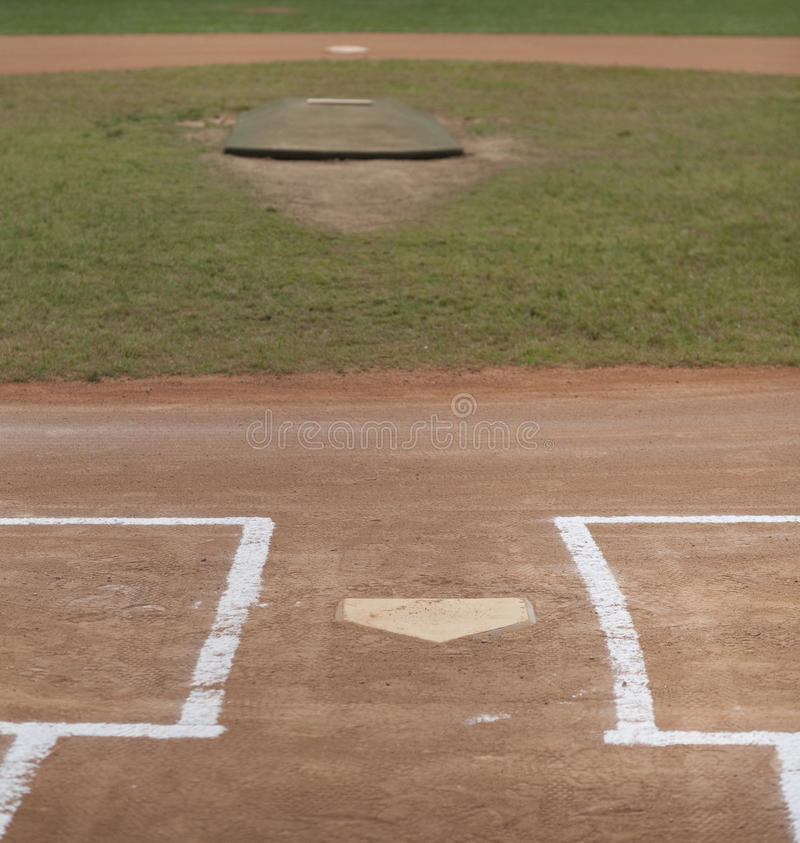 Baseball Field stock images