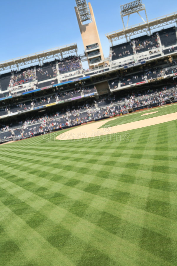 Download Baseball Field stock image. Image of grass, color, stands - 2894845
