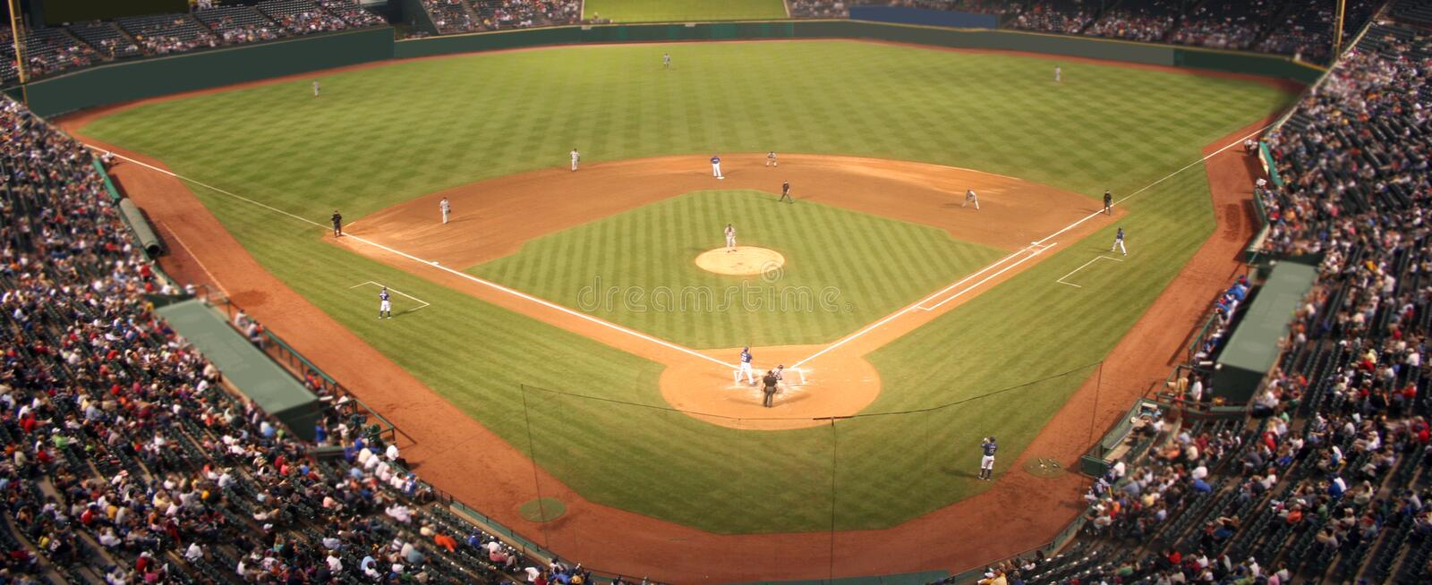 Download Baseball Field stock photo. Image of night, people, compete - 6146612