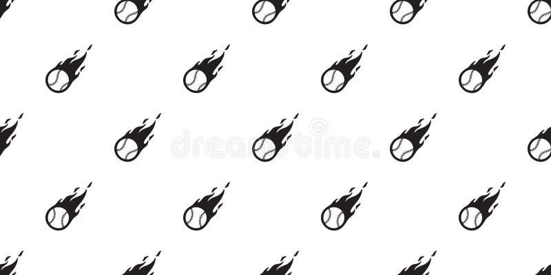 Pattern For Sport Wallpaper: Baseball Seamless Pattern Vector Softball Baseball Bat