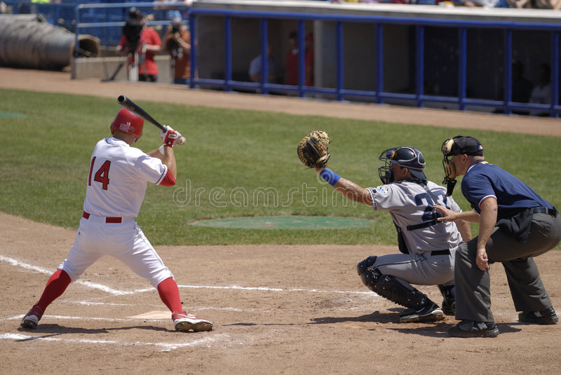 Download Baseball game editorial stock photo. Image of summer, home - 4586433