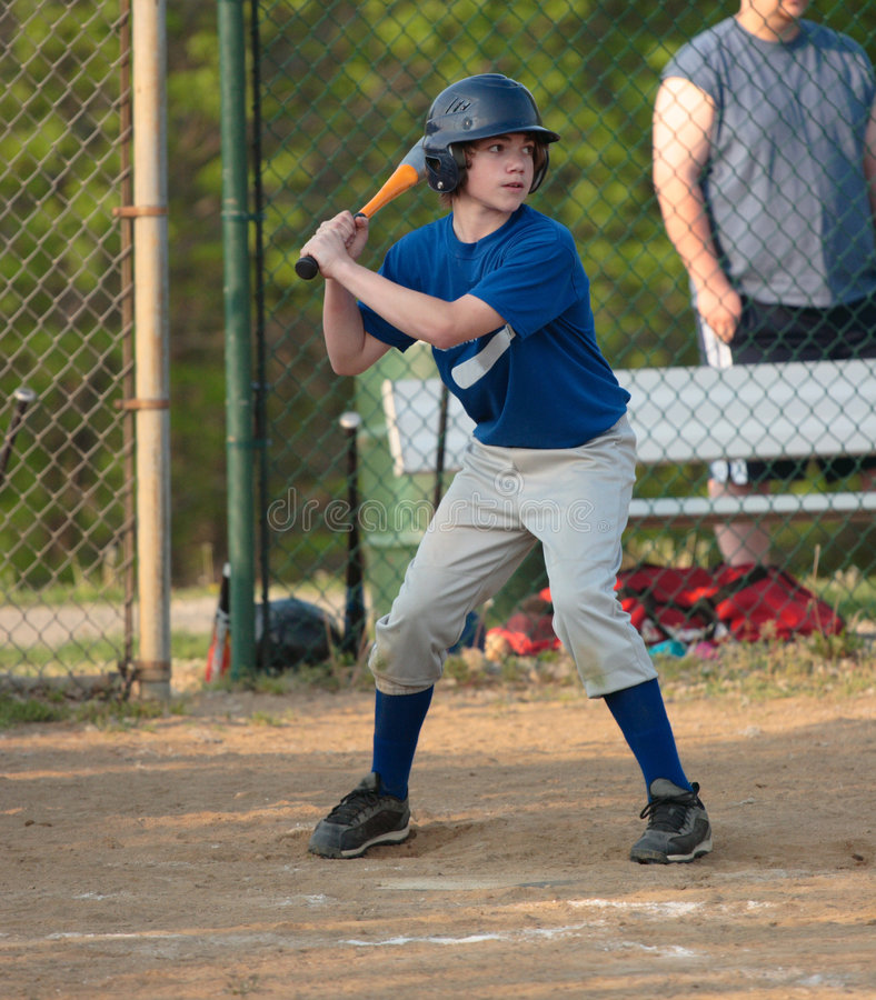Baseball-geschlagener Eierteig stockfotos