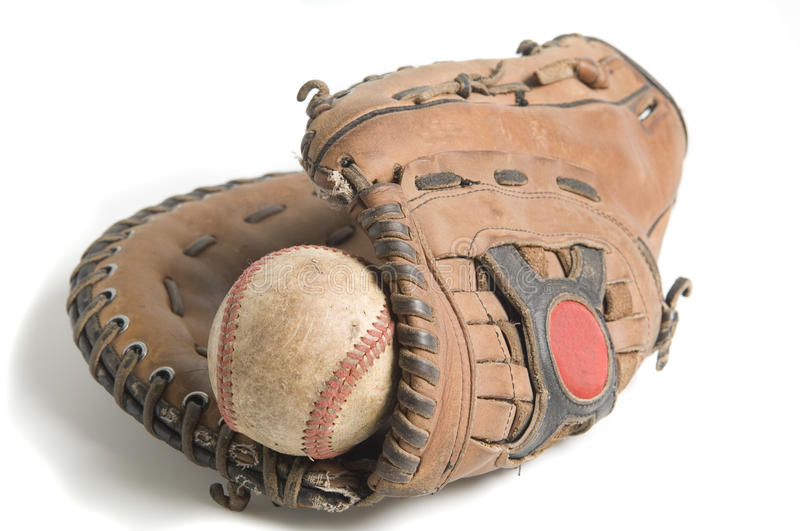 Download Baseball In Glove Stock Photos - Image: 14822453