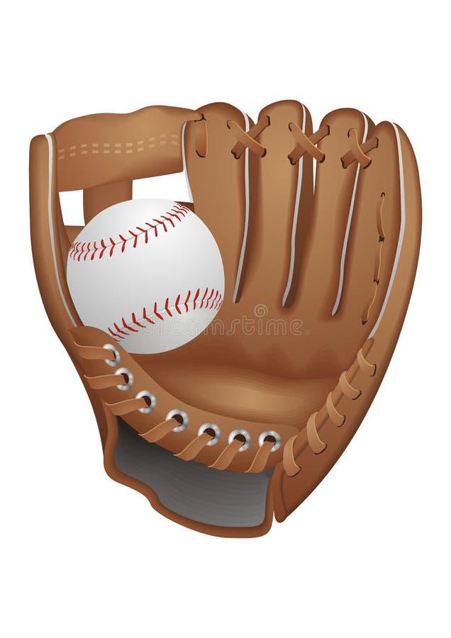 Baseball Glove. Vector illustration of Baseball Glove royalty free illustration