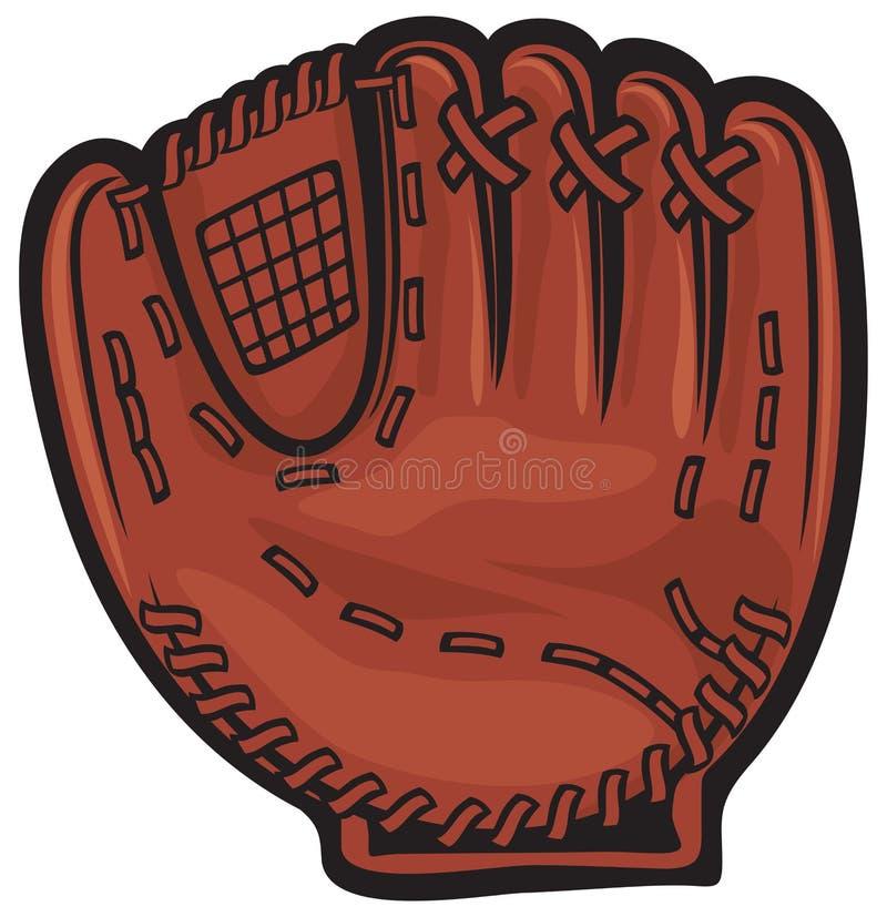 Baseball glove. Glove for baseball, sports equipment royalty free illustration
