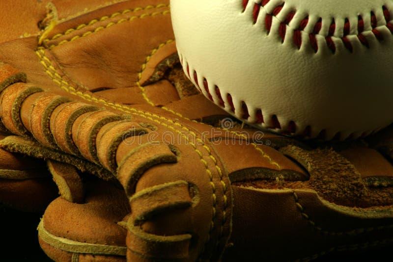 Baseball and Glove stock photography